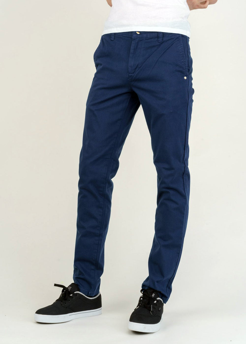 Men's Chinos in Night Sea-Jeans-Sancho's Dress