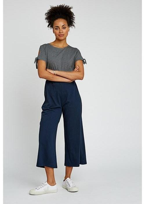 Chandre Trousers in Navy-Trousers-Sancho's Dress