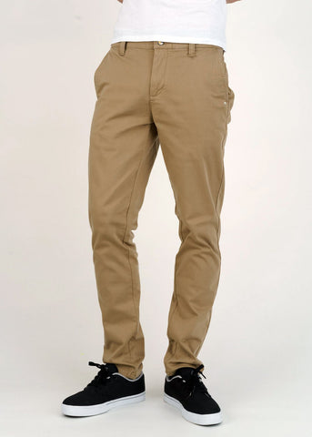 Men's Chinos in Dark Buff-Jeans-Sancho's Dress