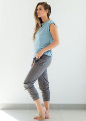 Harems Dusk Grey-Joggers-Sancho's Dress