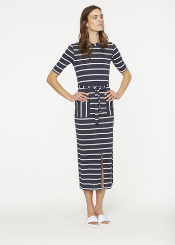 Tonia Navy-White-Dress-Sancho's Dress