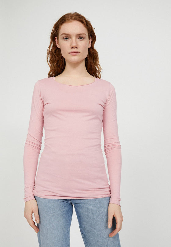 Sustainable Organic Cotton Pale Pink Top from Female-led Sancho's in Exeter, UK