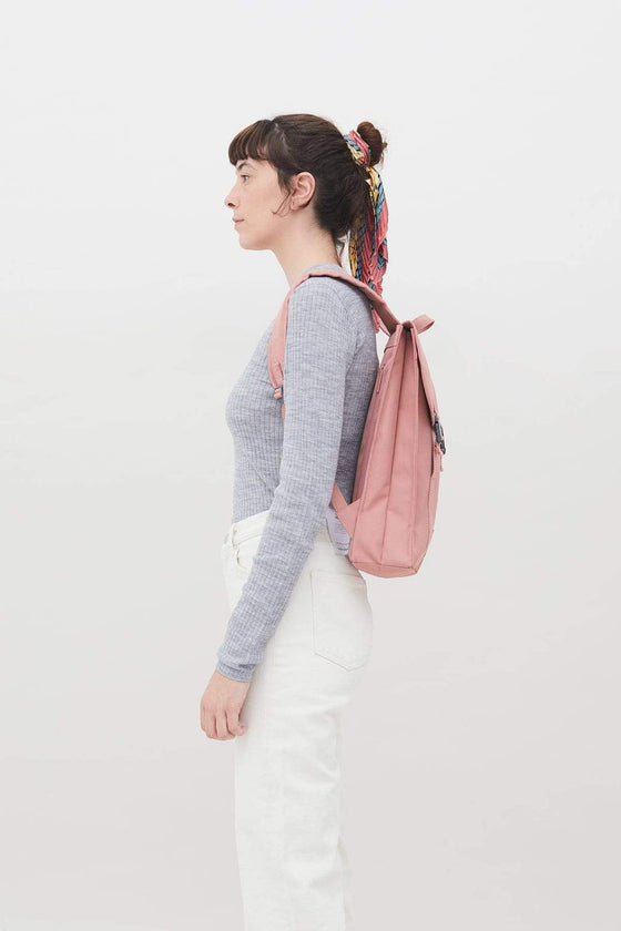 Handy Backpack in Dusty Pink