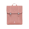 Recycled Plastic Bottle Handy Backpack in Dusty Pink from Lefrik