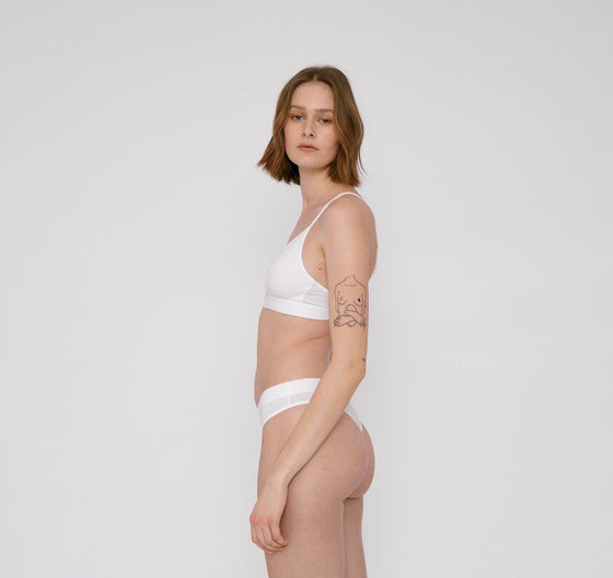 Natural Sustainable Tencel Organic Basics Underwear from Affordable and Black-owned Sancho's in Exeter, UK