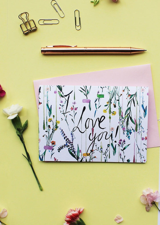 I love you-Card-Sancho's Dress