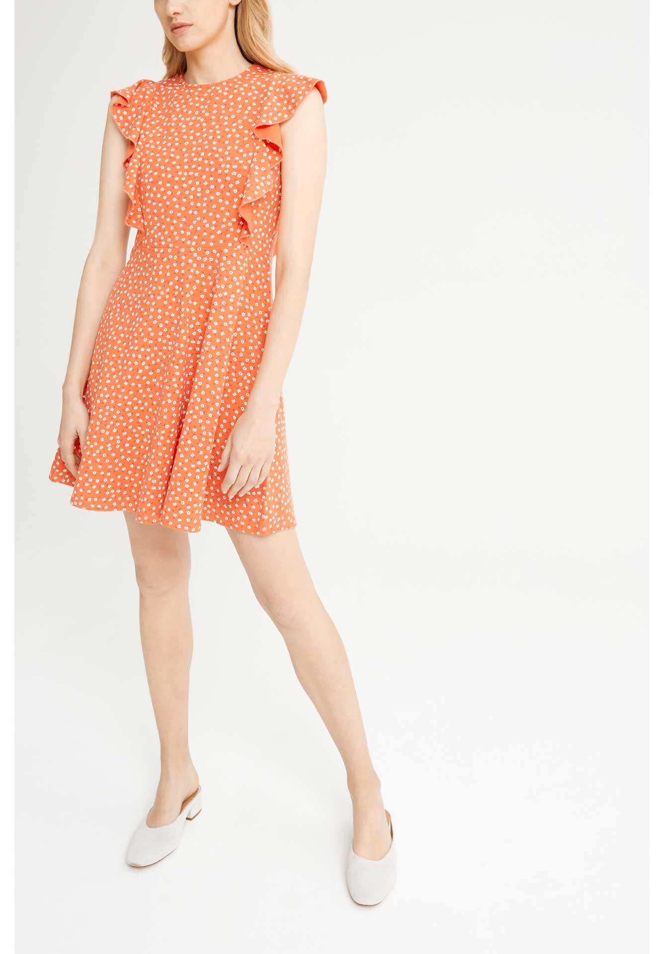 Lulu Floral Dress - Red-Dress-Sancho's Dress