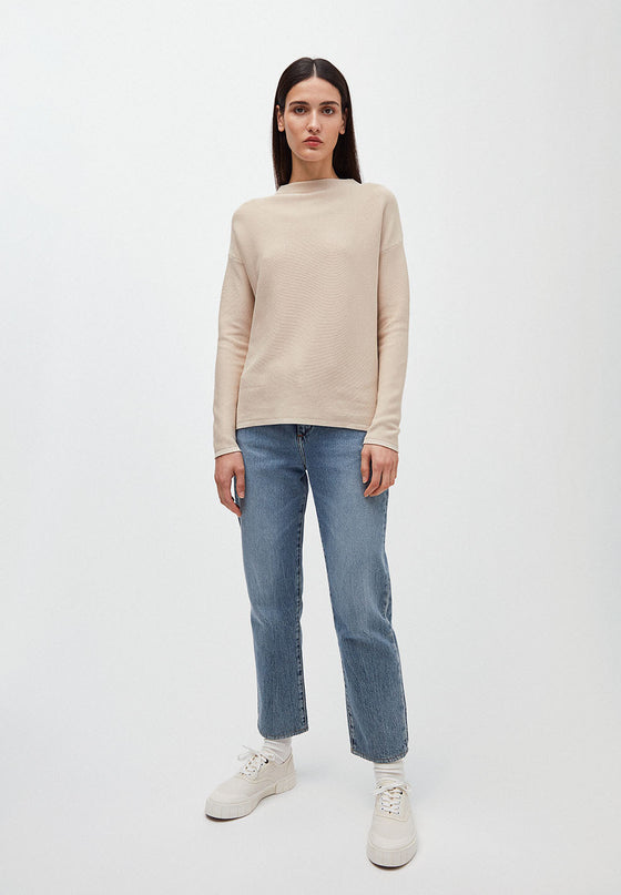 Medinaa Knitted Jumper in Kitt