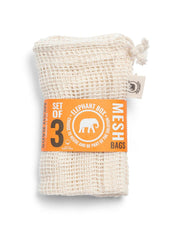 Set of 3 Organic Mesh Bags-Plastic Free-Sancho's Dress