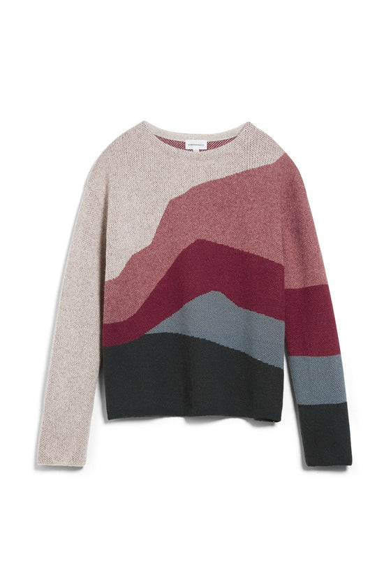 Meylaa Landscape Jumper in Multi
