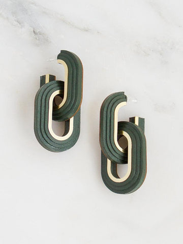 Mirage Hoop Earrings-Earrings-Sancho's Dress