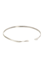 Narrow Cuff in Silver-Bracelet-Sancho's Dress