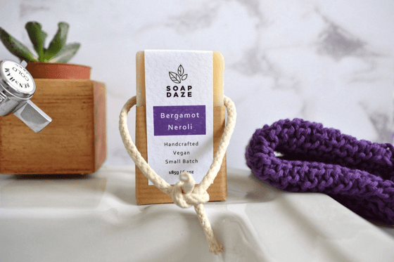 Bergamot & Neroli Soap On A Rope