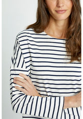 Nerissa Stripe Top-Women top-Sancho's Dress