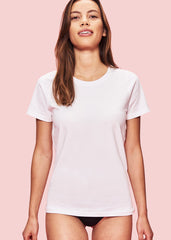 Women's SilverTech Tee in White-T-Shirt-Sancho's Dress