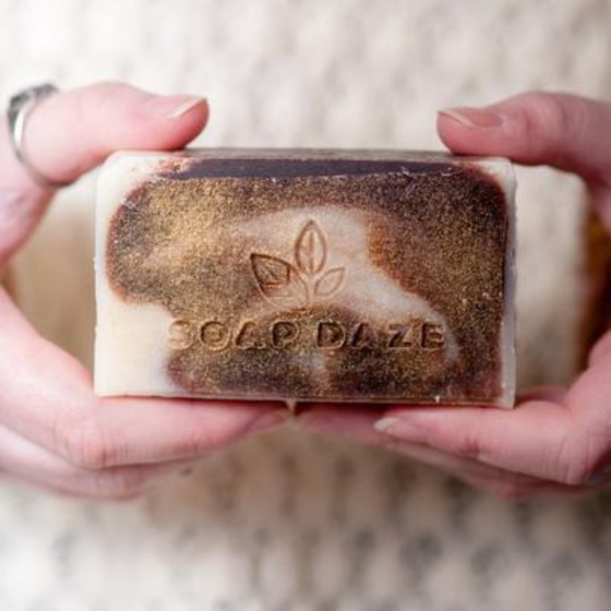Natural Handmade Vegan Frankincense Soap from Soap Daze