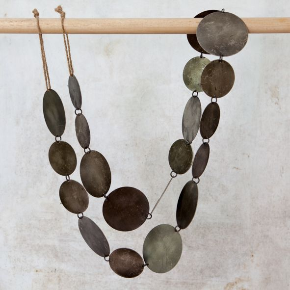 Ranu Metal Garland - Antique Nickel-Decoration-Sancho's Dress