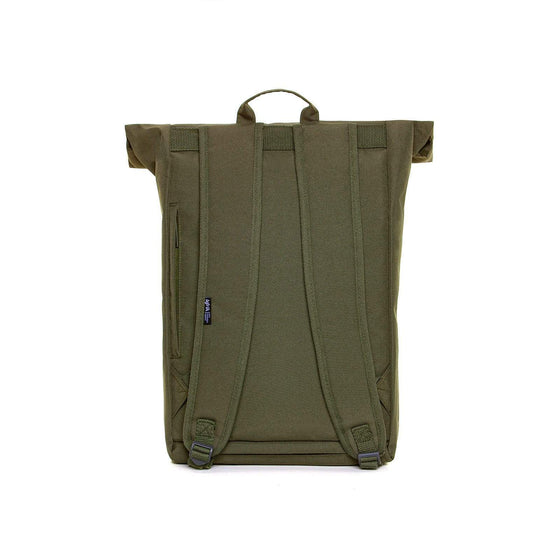 Eco Roll Backpack in Olive