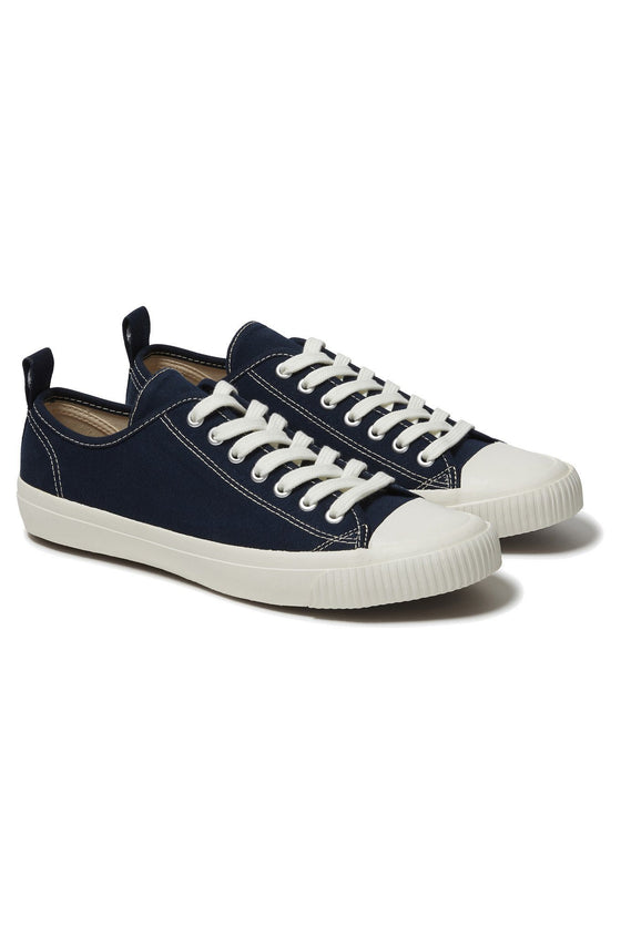 Organic Cotton Eco Sneako Trainers in Navy from Komodo
