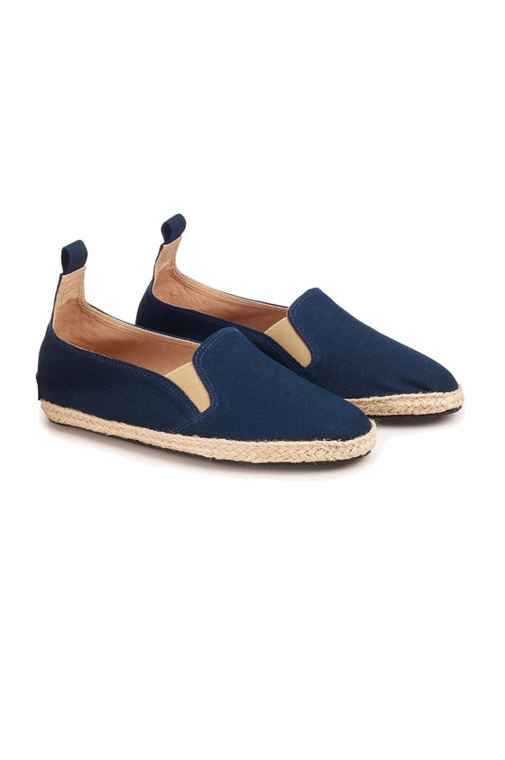 Organic Cotton Kung Fu Shoes in Navy from Komodo