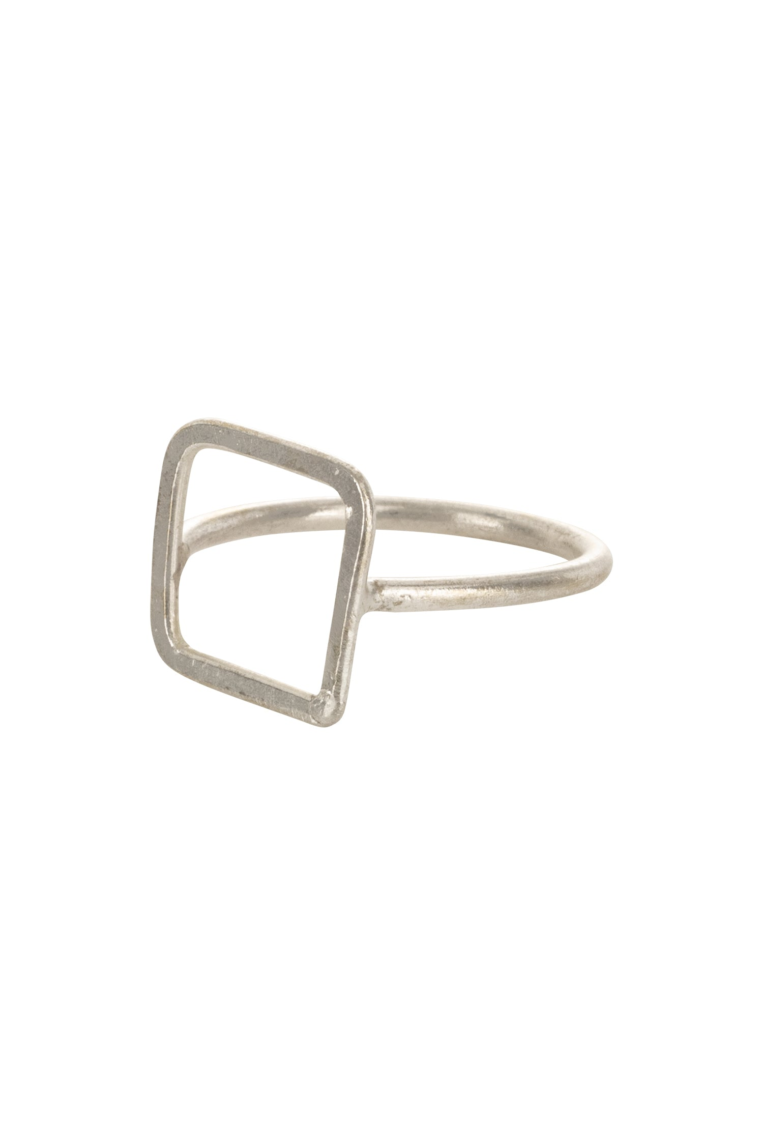 Square ring - Silver-Ring-Sancho's Dress