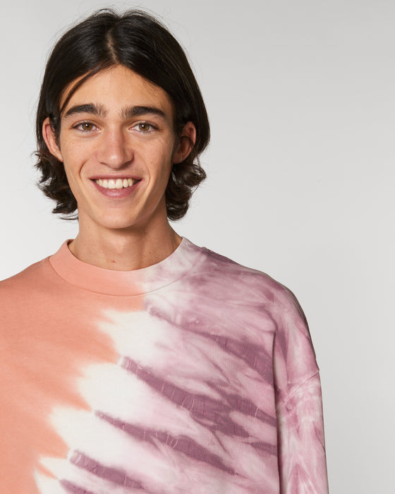 Firer Tie-Dye in Mauve & Rose Clay