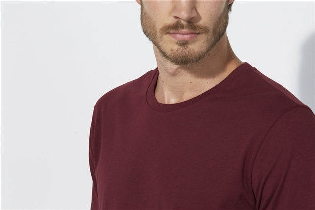He Shuffles - Burgundy-LS T-Shirt-Sancho's Dress