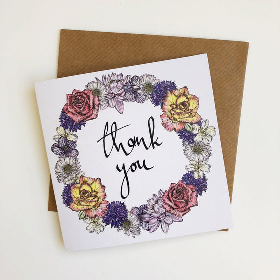 Thank You Card-Card-Sancho's Dress
