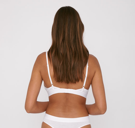 Organic Basics TENCEL Lite Bralette in White
