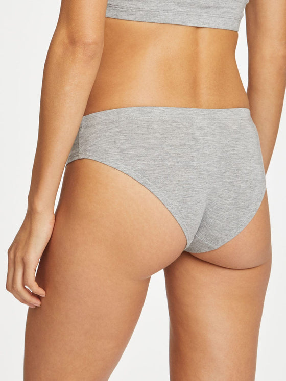 Hannah Bikini Brief in Grey Marle