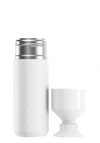 Dopper Insulated Drinks Bottle, 580ml, Wavy White