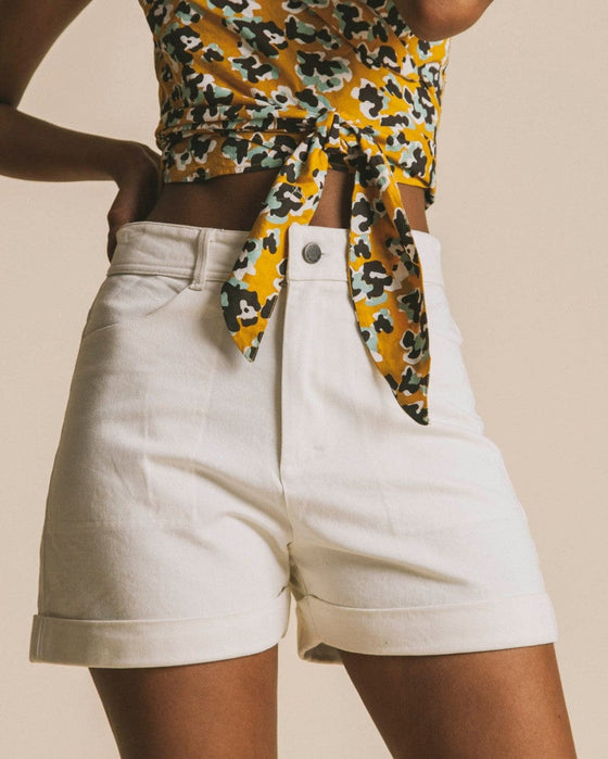 Logome Shorts in White