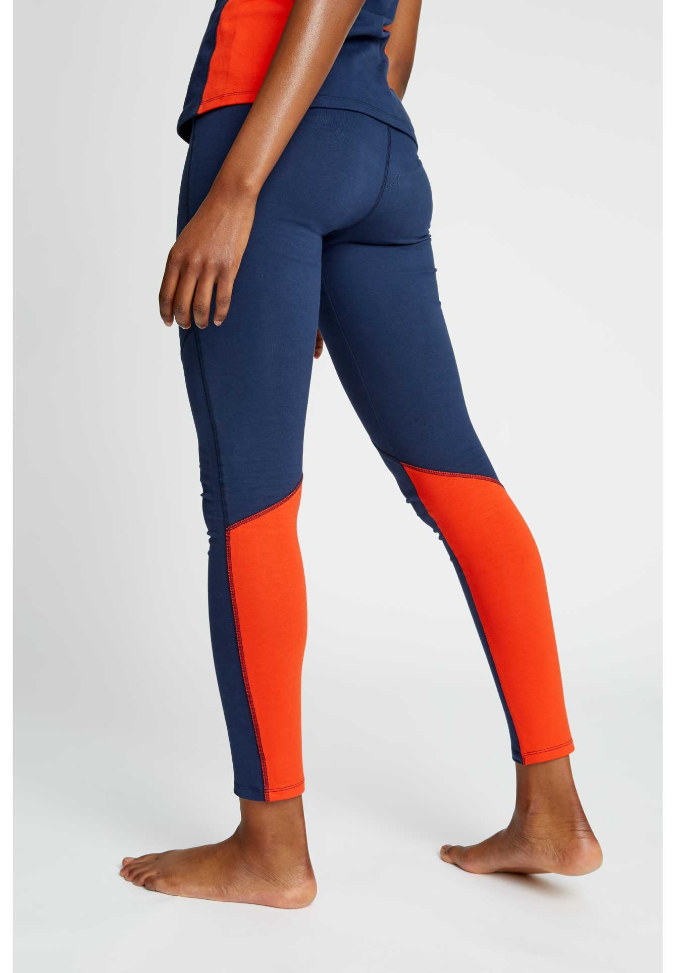 Yoga Colourblock Leggings-Leggings-Sancho's Dress
