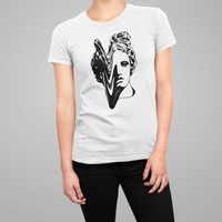 Noir Noah Tattoo t-shirt tee Apollo Sculpture