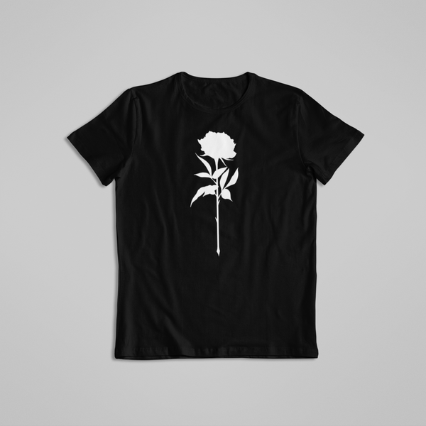 Noir Noah Tattoo t-shirt tee Rose