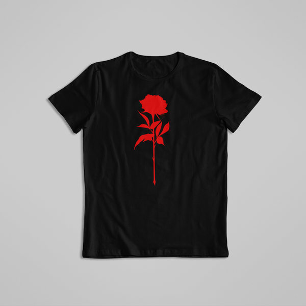 Noir Noah Tattoo t-shirt tee Red Rose