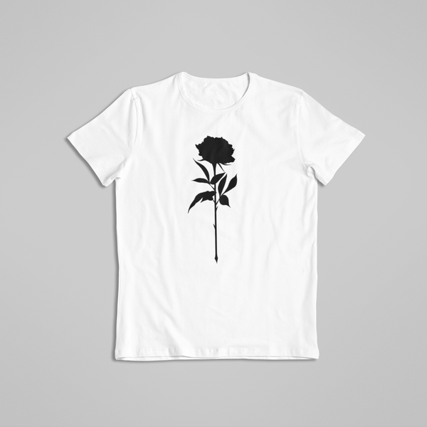 Noir Noah Tattoo t-shirt tee Black Rose