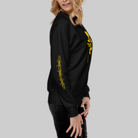 Golden Rose Unisex Fleece Sweatshirt