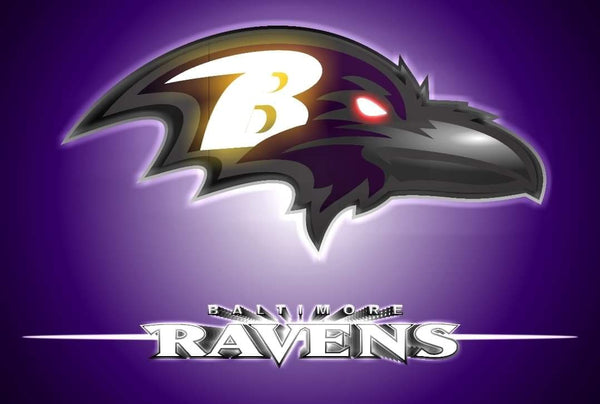 Baltimore Ravens By Mike Arts