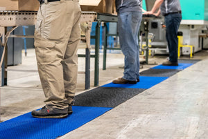 Flexipath workplace social distance matting