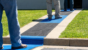Social Distance Lane and Entry Matting