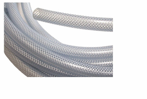 Braided Clear Vinyl Tubing