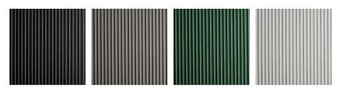 Vinyl Round Rib Runner Matting in various colors and widths