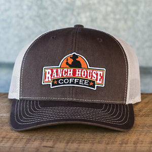 Ranch House Coffee Trucker Snapback Hat (5 Color options)