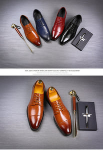 Oxford Leather Dress Shoes