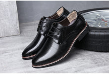 Load image into Gallery viewer, Men Oxfords Leather Shoes