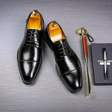 Load image into Gallery viewer, Oxford Leather Dress Shoes