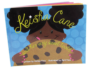 Keisha Cane and Her Very Sweet Tooth - Mini Paperback (6x4 in) - (Book + Swag)