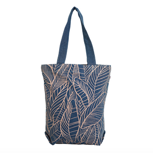Banana Leaves Bucket- Denim Light Wash