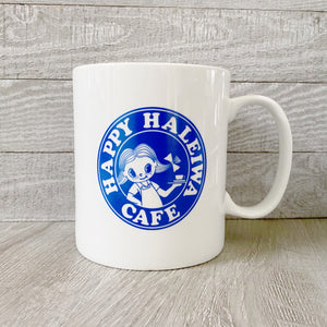 Large Cafe Coffee Mug